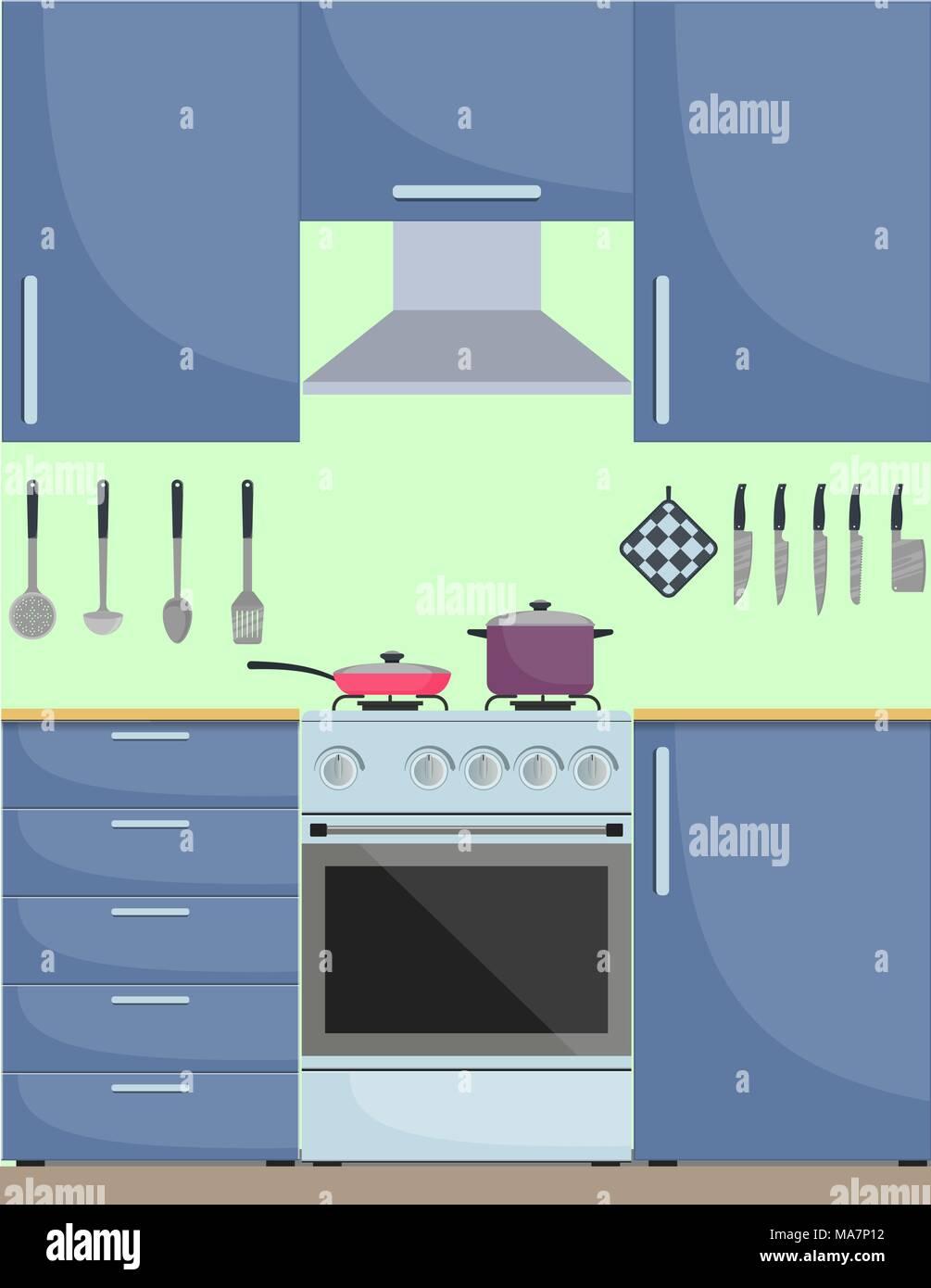 Kitchen Axe Vector Vectors Stock Photos & Kitchen Axe Vector Vectors ...
