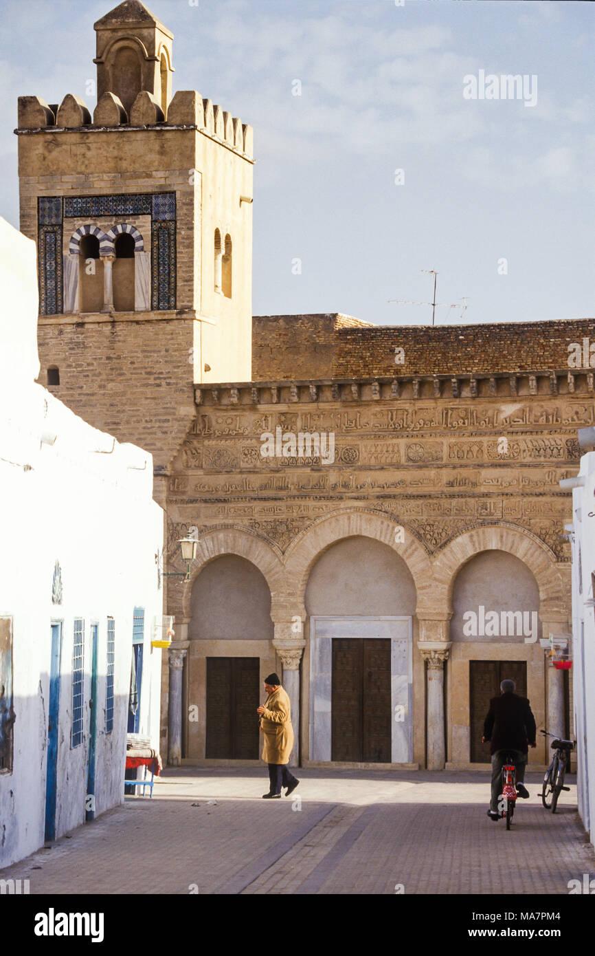 Window Of Old House In Medinah, Kairouan, Tunisia   Stock Image