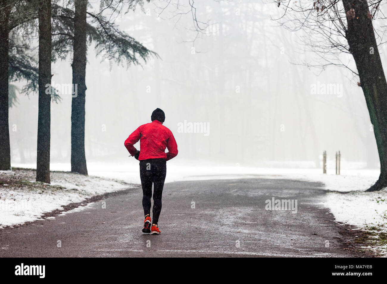 Running 26 Miles Through Slush and Snow Count Me In picture