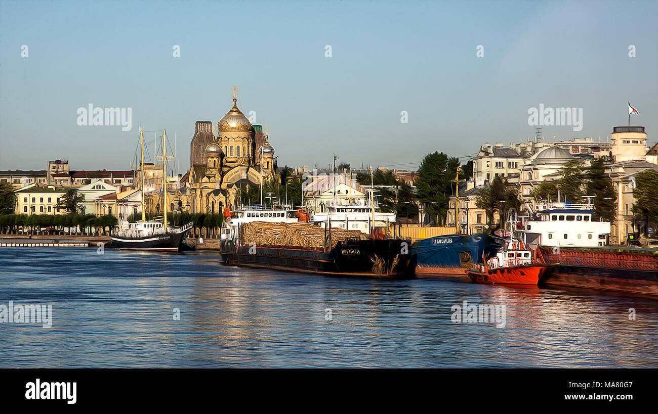 Saint Petersburg - Stock Image