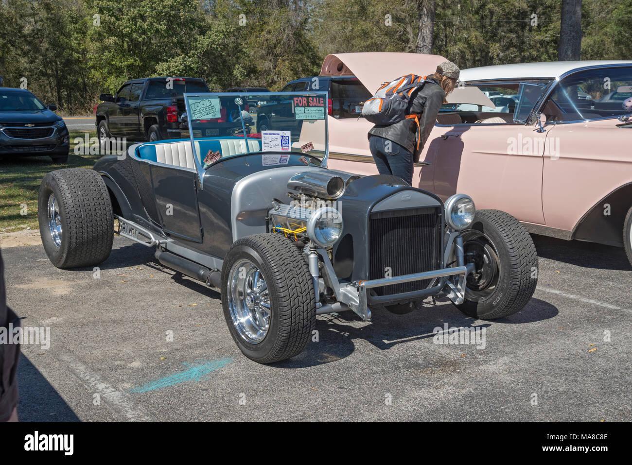 Ford Hot Rod Custom Car Stock Photos & Ford Hot Rod Custom Car Stock ...