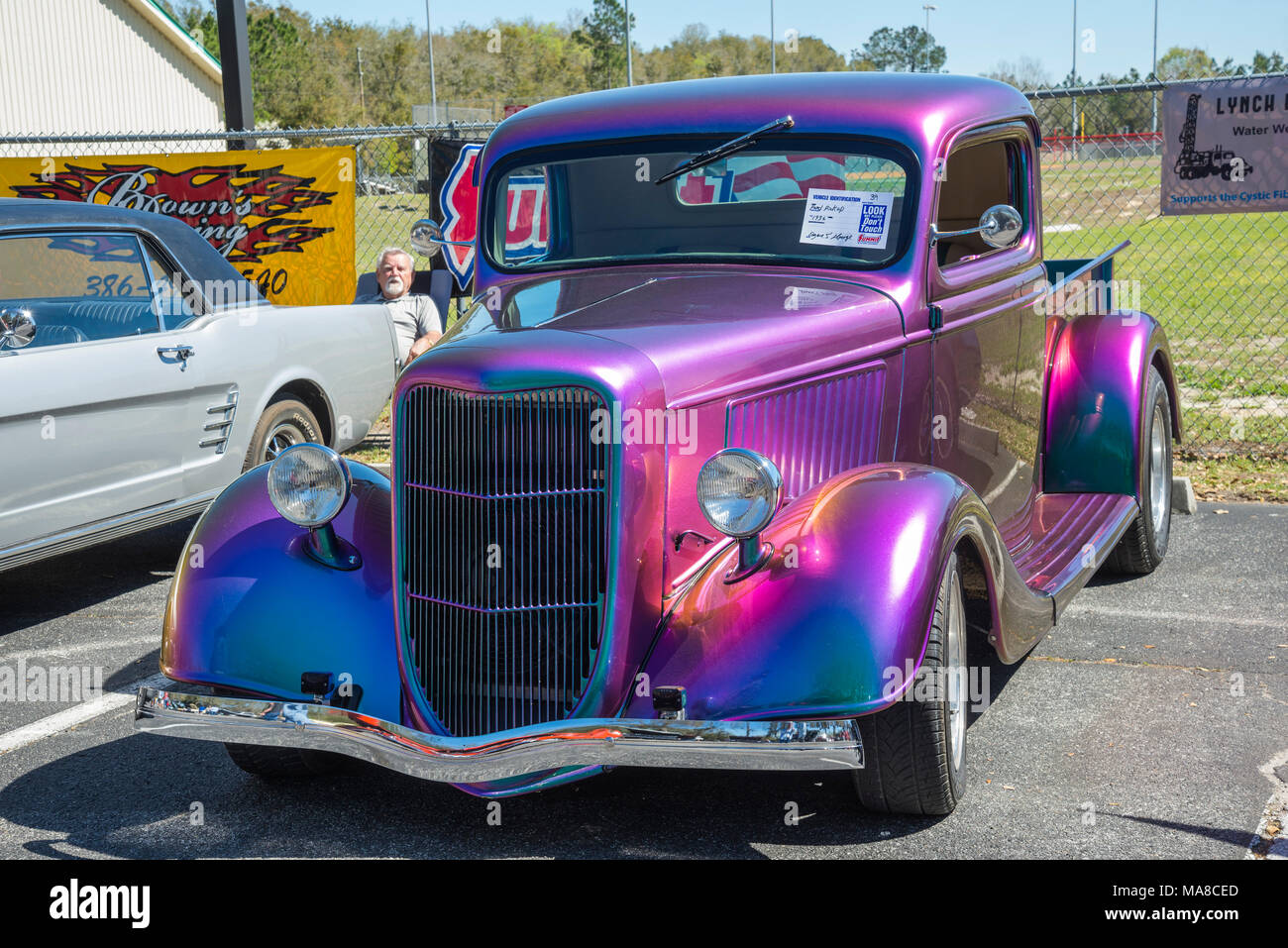 Car Show in Ft. White, Florida Stock Photo: 178435669 - Alamy