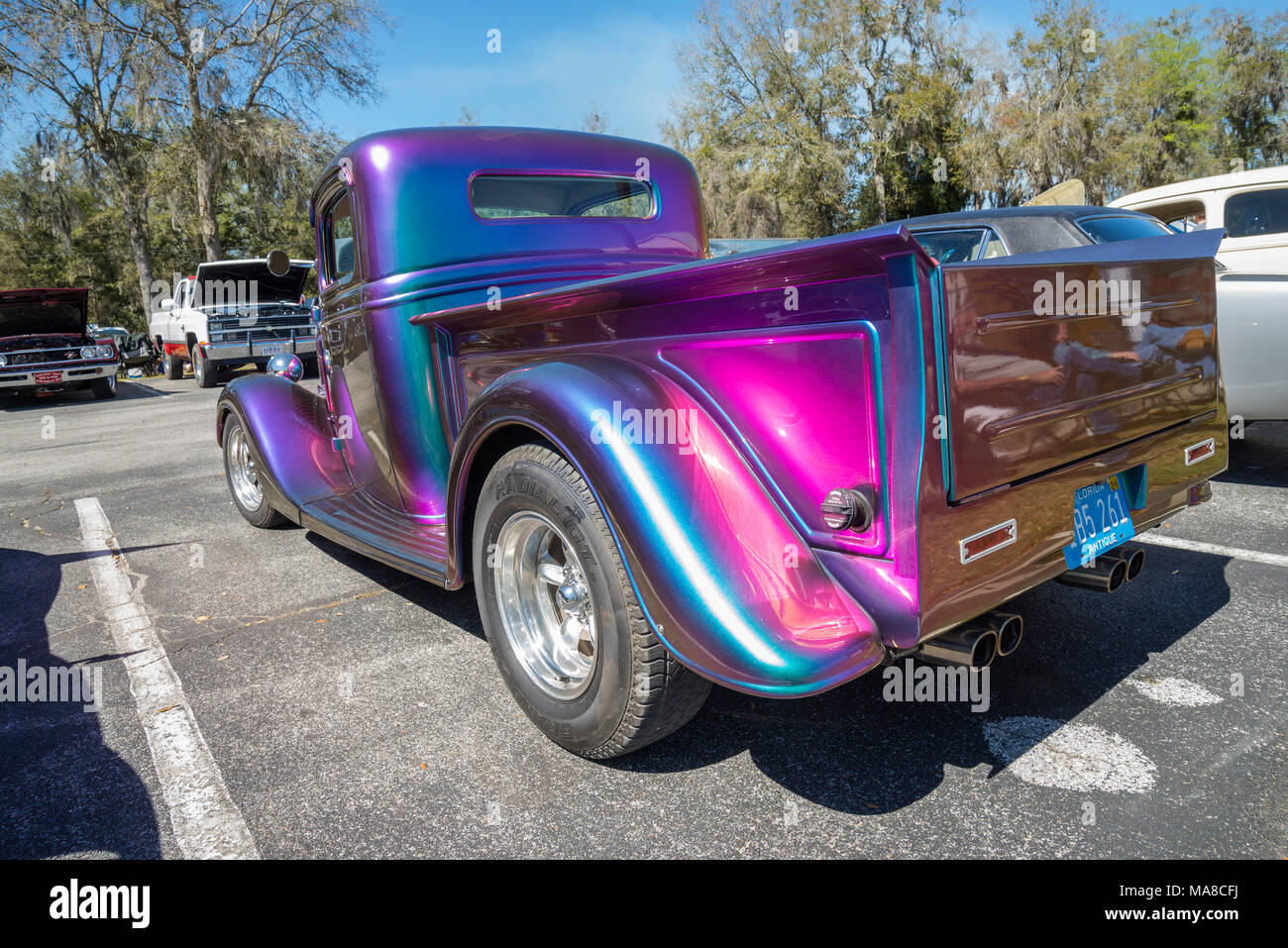 Car Show in Ft. White, Florida Stock Photo: 178435702 - Alamy
