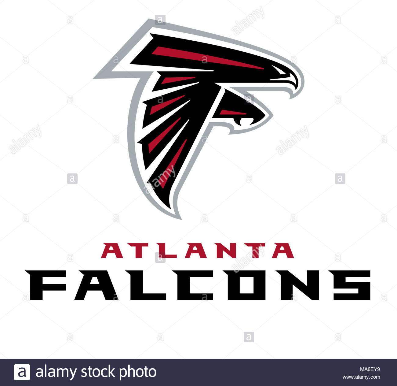 Atlanta Falcons Logo Icon Stock Photo 178437597 Alamy