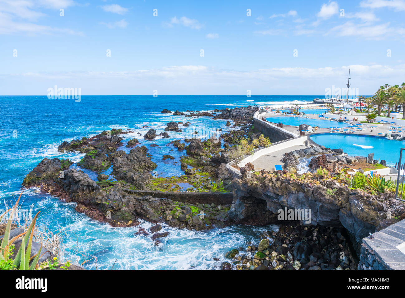 Santa cruz del lago stock photos santa cruz del lago - Piscine martianez tenerife ...