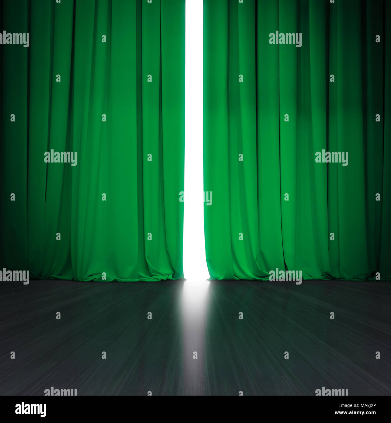 Dark Green Velvet Curtain High Resolution Stock Photography And Images Alamy