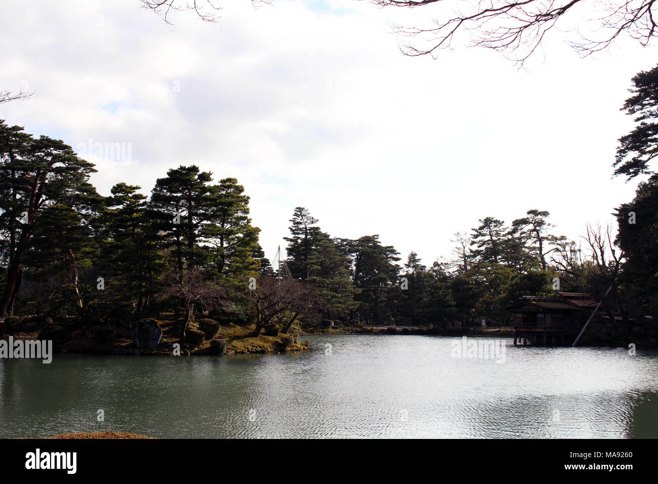 The View Around Kenrokuen One Of The Most Beautiful Gardens