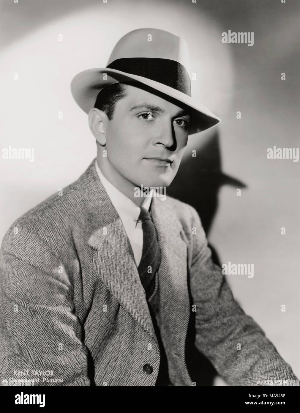 Actor Kent Taylor, Publicity Portrait, Paramount Pictures, 1930's Stock Photo