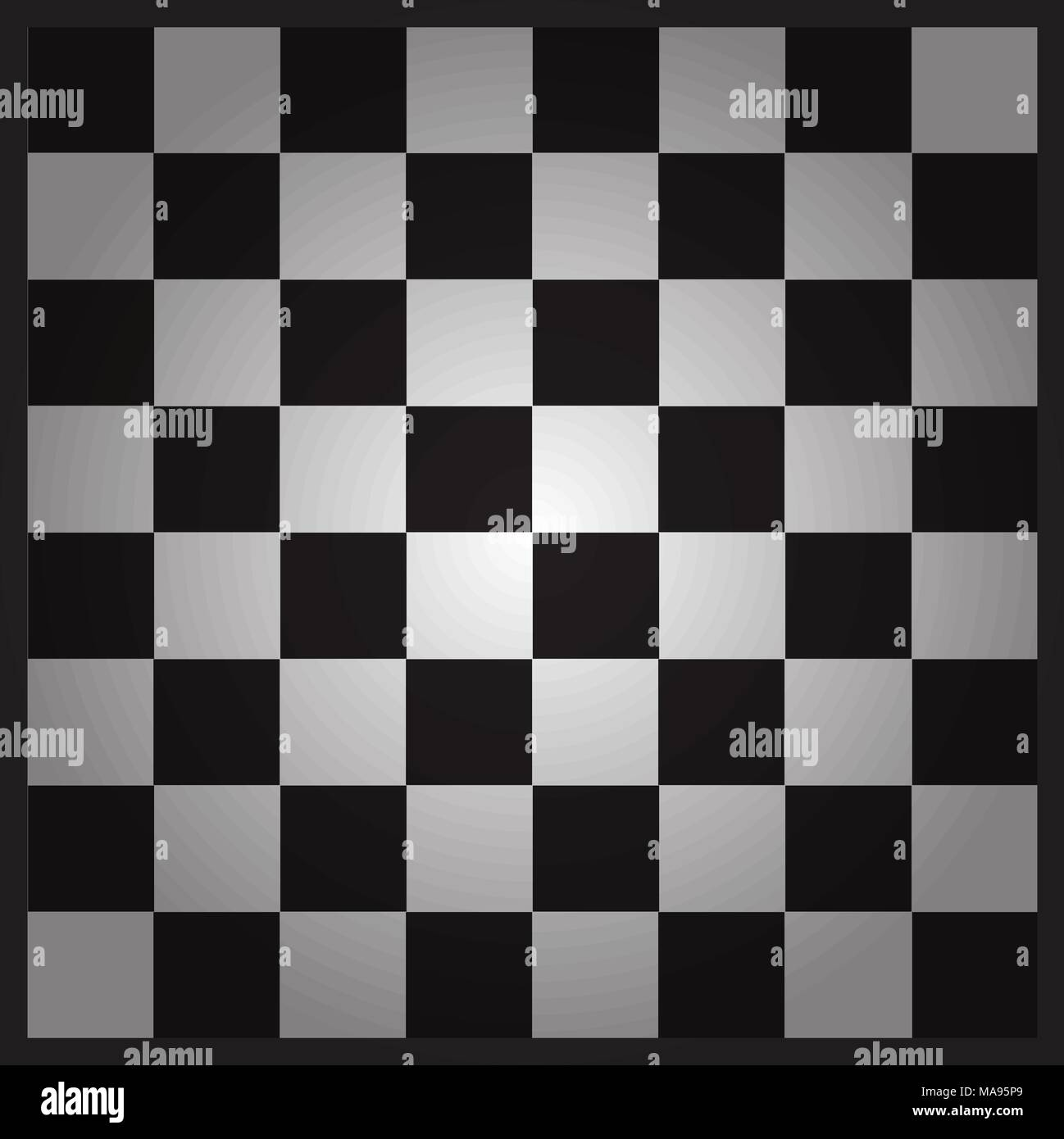 Empty Chess Board Ready Layout For Your Design Stock Vector Image Art Alamy