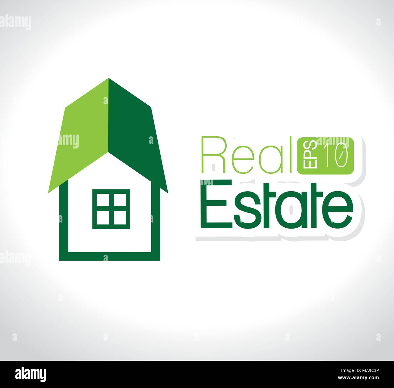 Real estate design. - Stock Vector