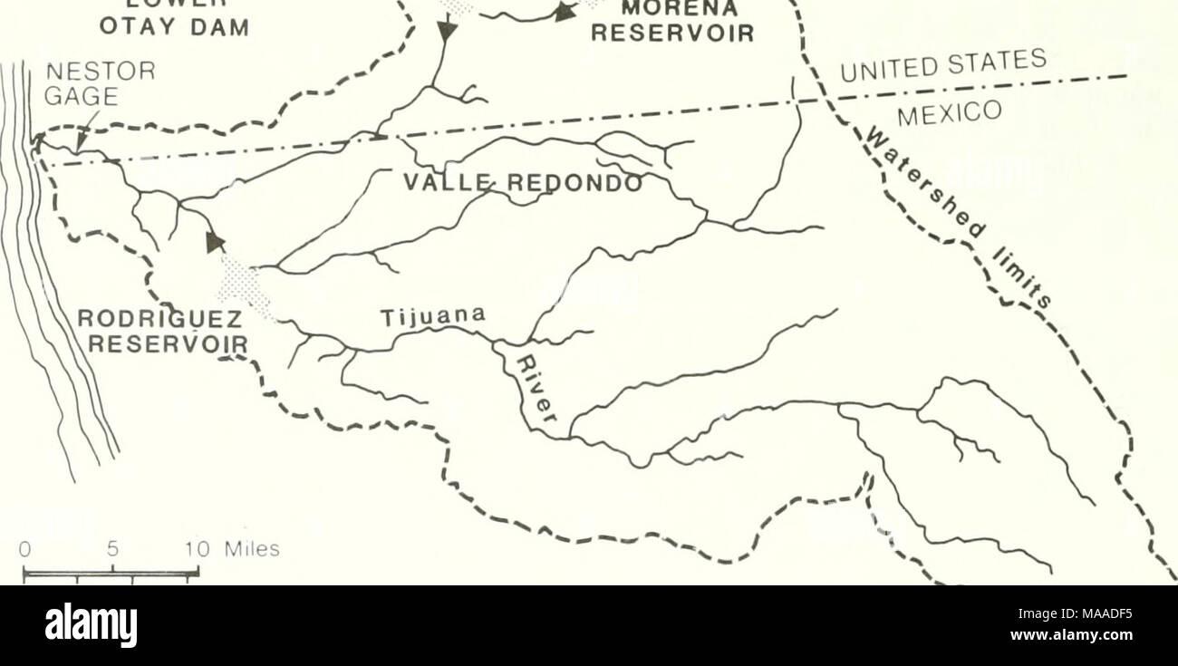 Tijuana Watershed Map - Ancora.store •