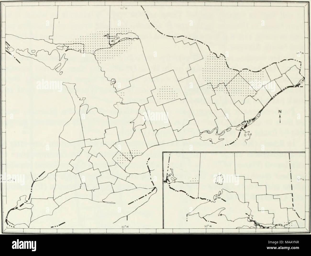 Go Home Lake Ontario Muskoka 17 x 22 Paper Wall Map