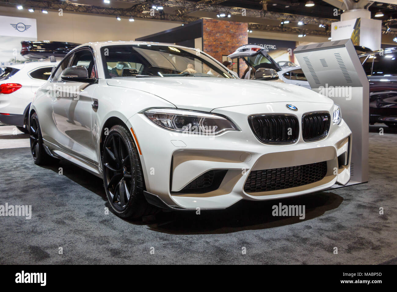 Vancouver Canada March 2018 Bmw M2 Coupe Taken At 2018