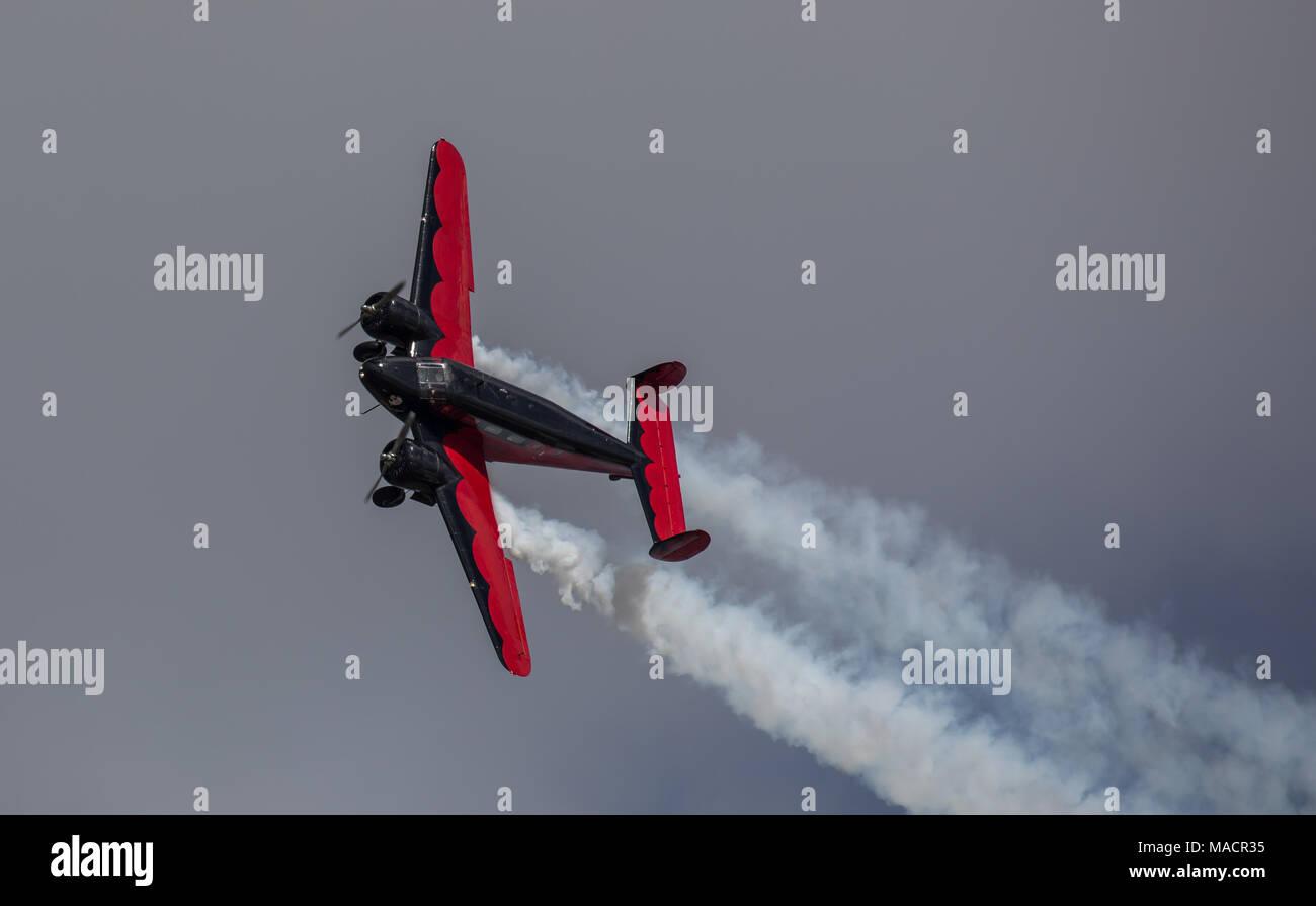 Stunt Flying - Stock Image