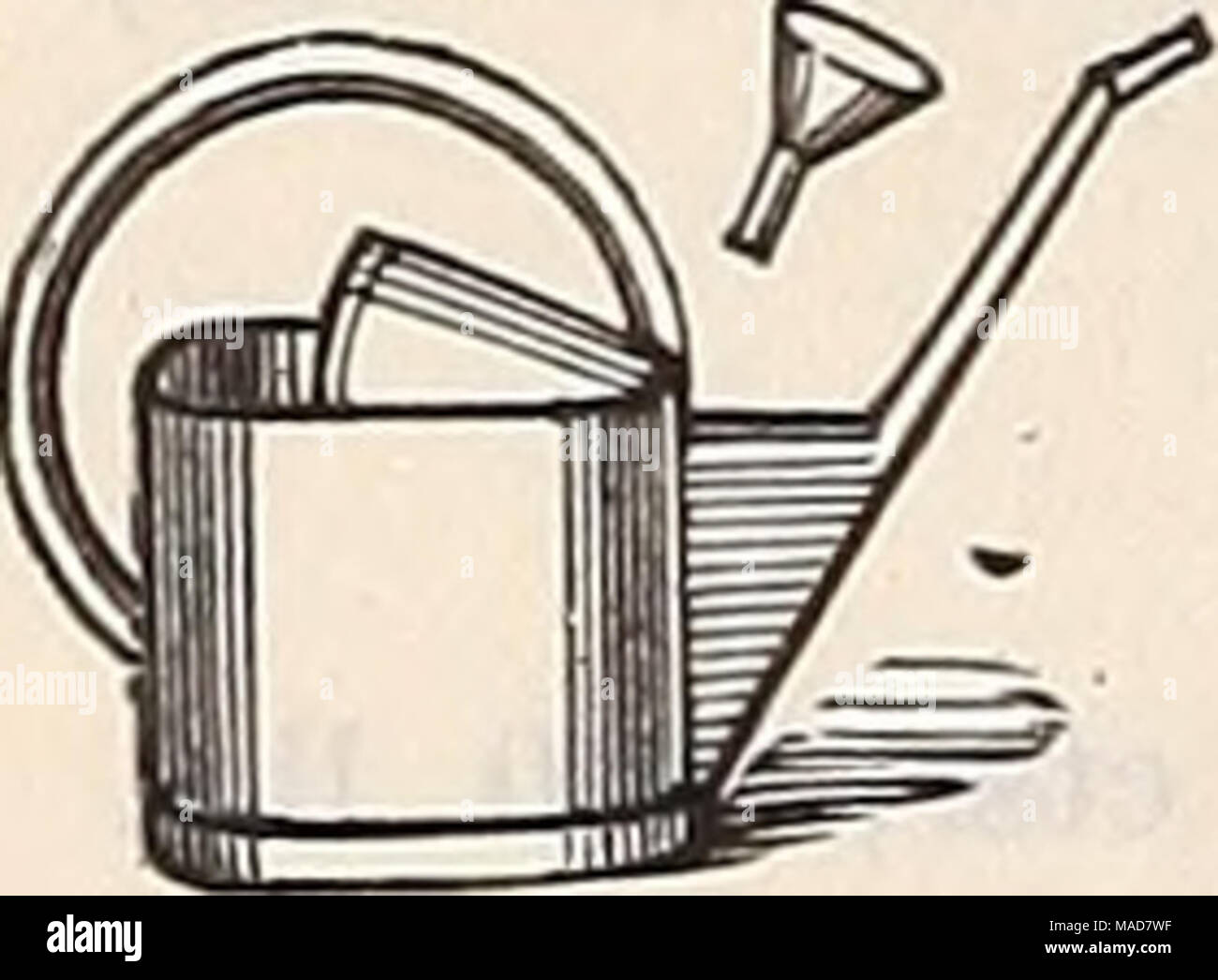 """. Dreer's quarterly wholesale price list : seeds plants bulbs tools fertilizers sundries &c . Round. $1 15 1 45 1 80 2 25 2 70 Galvanized Water Pots. A substantial water pot and one we can recommend for constant use. Wotherspoon's patent. 4 quart $1 50 6 """" 1 75 8 """" 2 00 10 """" 2 25 12 """" 2 50 16 """" 3 00 - Stock Image"""