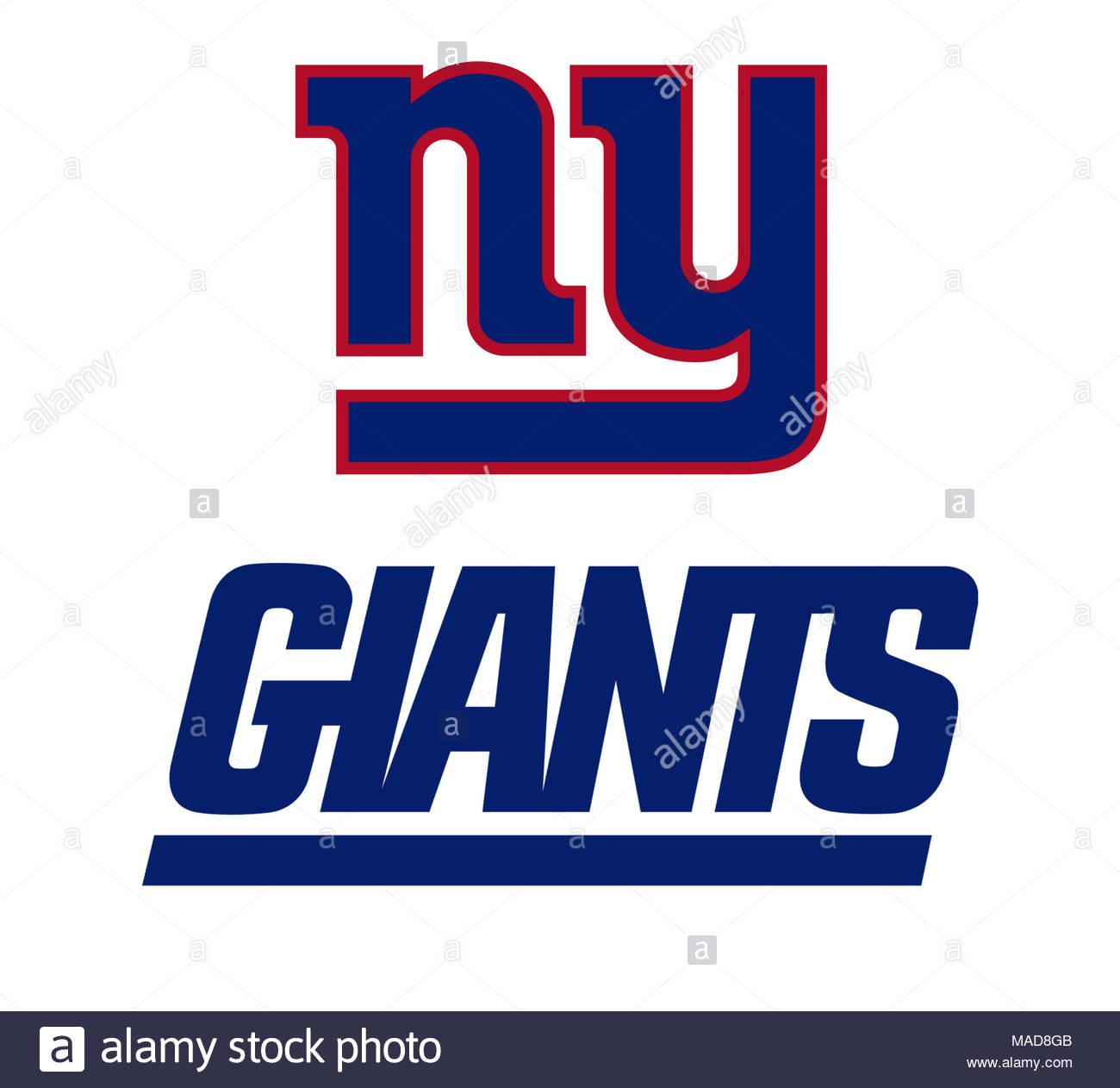 New York Giants Logo Icon Stock Photo 178542347 Alamy