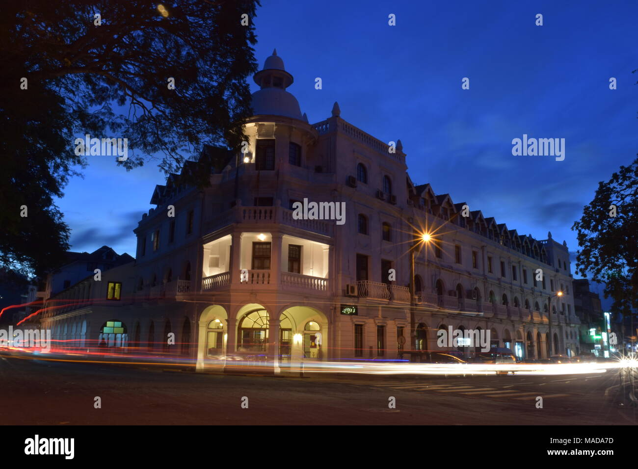 Kandy Queens Hotel - Stock Image
