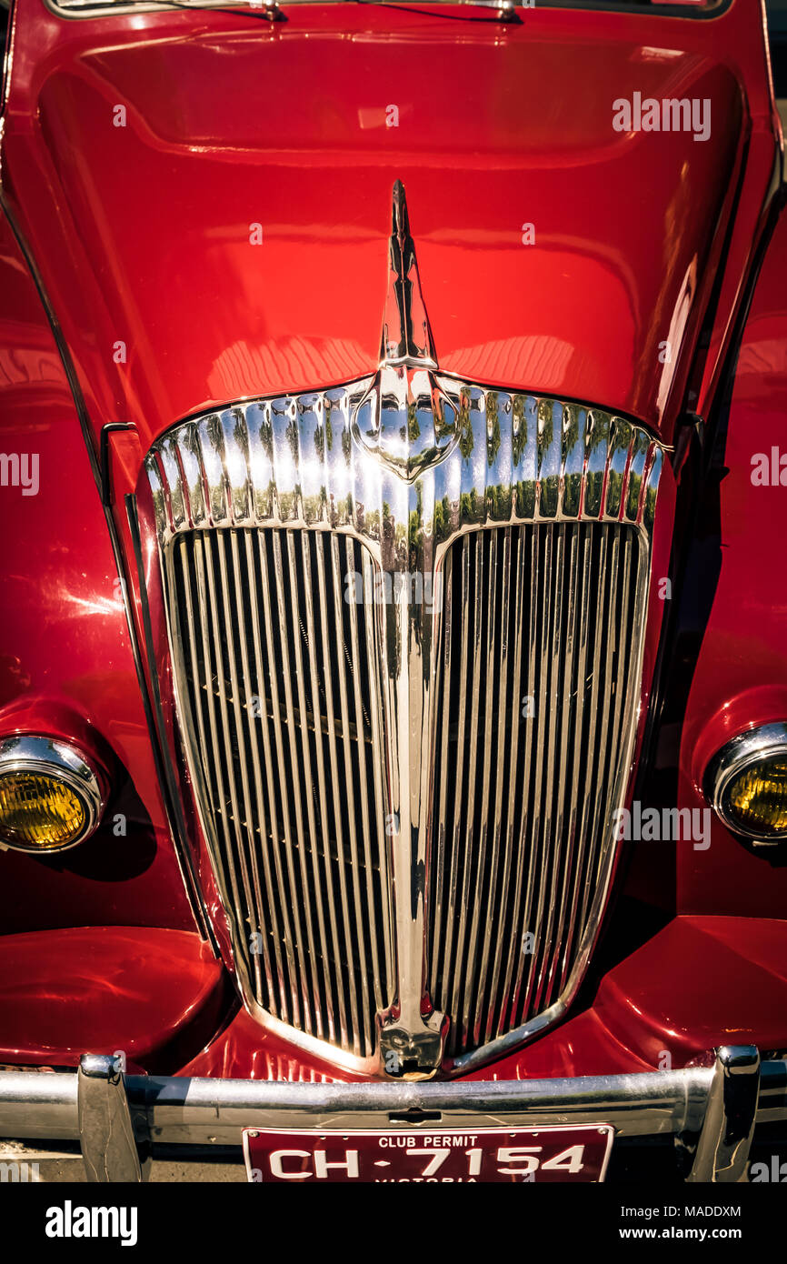 Daimler Motorcar at Bendigo - Stock Image