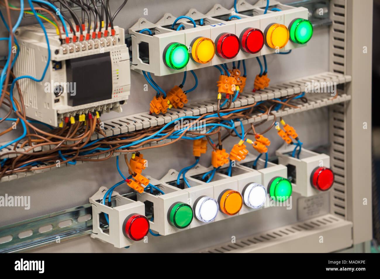 Electric Distribution Box Stock Photo 178551142 Alamy Home Wiring