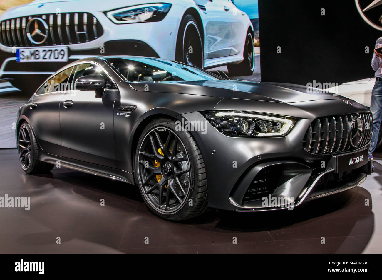 amg gt stock photos amg gt stock images alamy. Black Bedroom Furniture Sets. Home Design Ideas