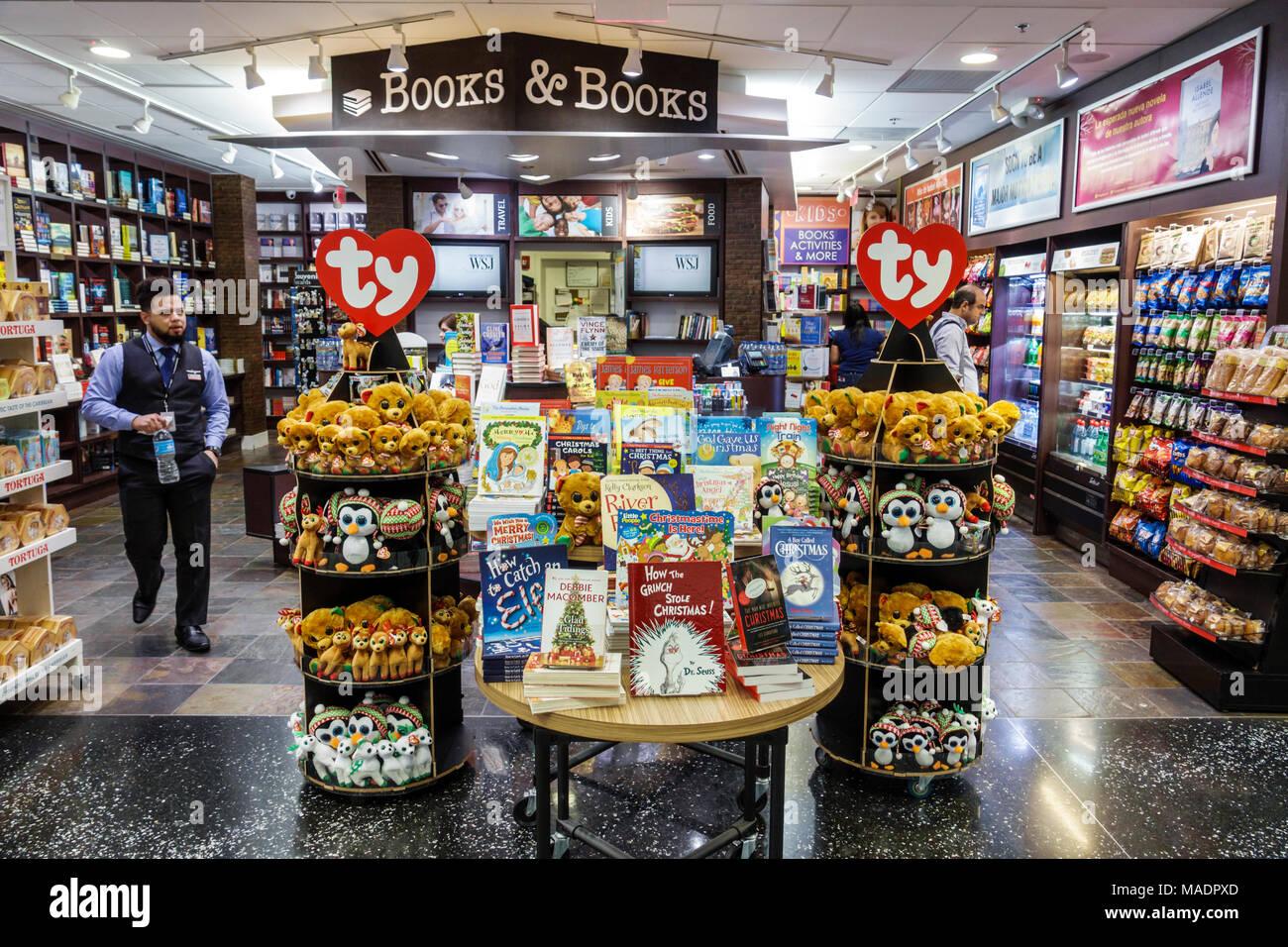 cd342ec43be Miami Florida Miami International Airport MIA terminal concourse gate area  interior shopping Books   Books bookstore