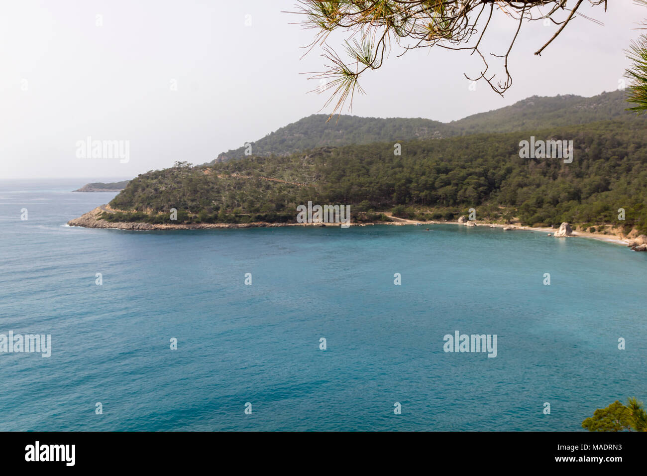 Phaselis Ancient City. Antalya Turkey - Stock Image