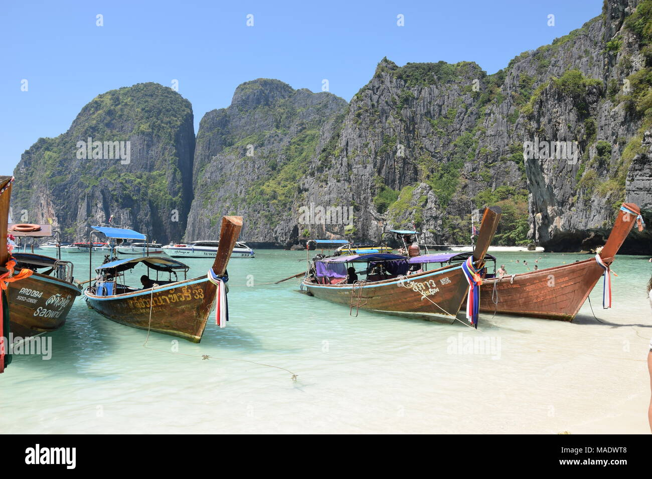 Koh Phi Phi, Thailand - Stock Image