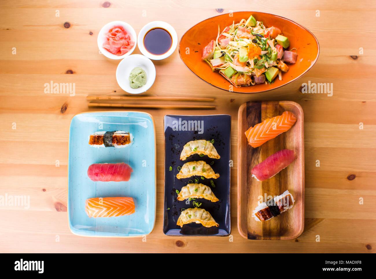 Crab Salad Nigiri Recipe