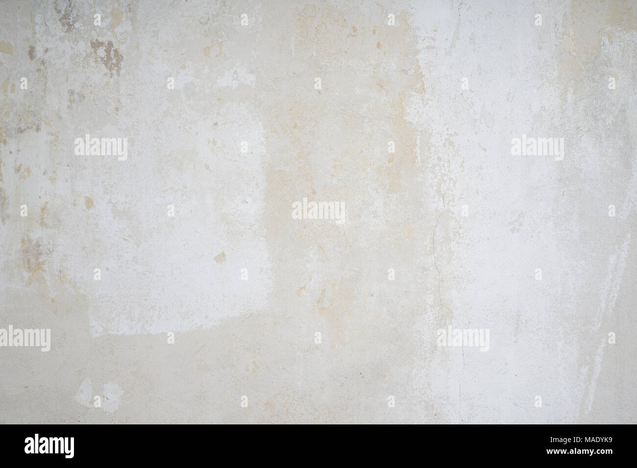 bare interior wall shabby grunge background texture - Stock Image