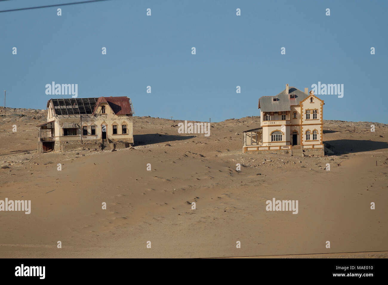 Kolmannskuppe abandoned diamond city - Stock Image