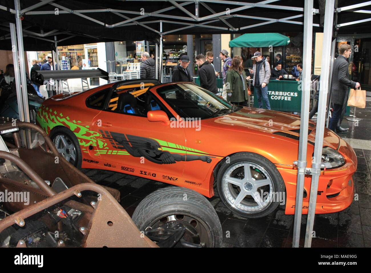 Fast Furious Cars On Display Before The Start Of UK Arena Live - Fast and furious car show