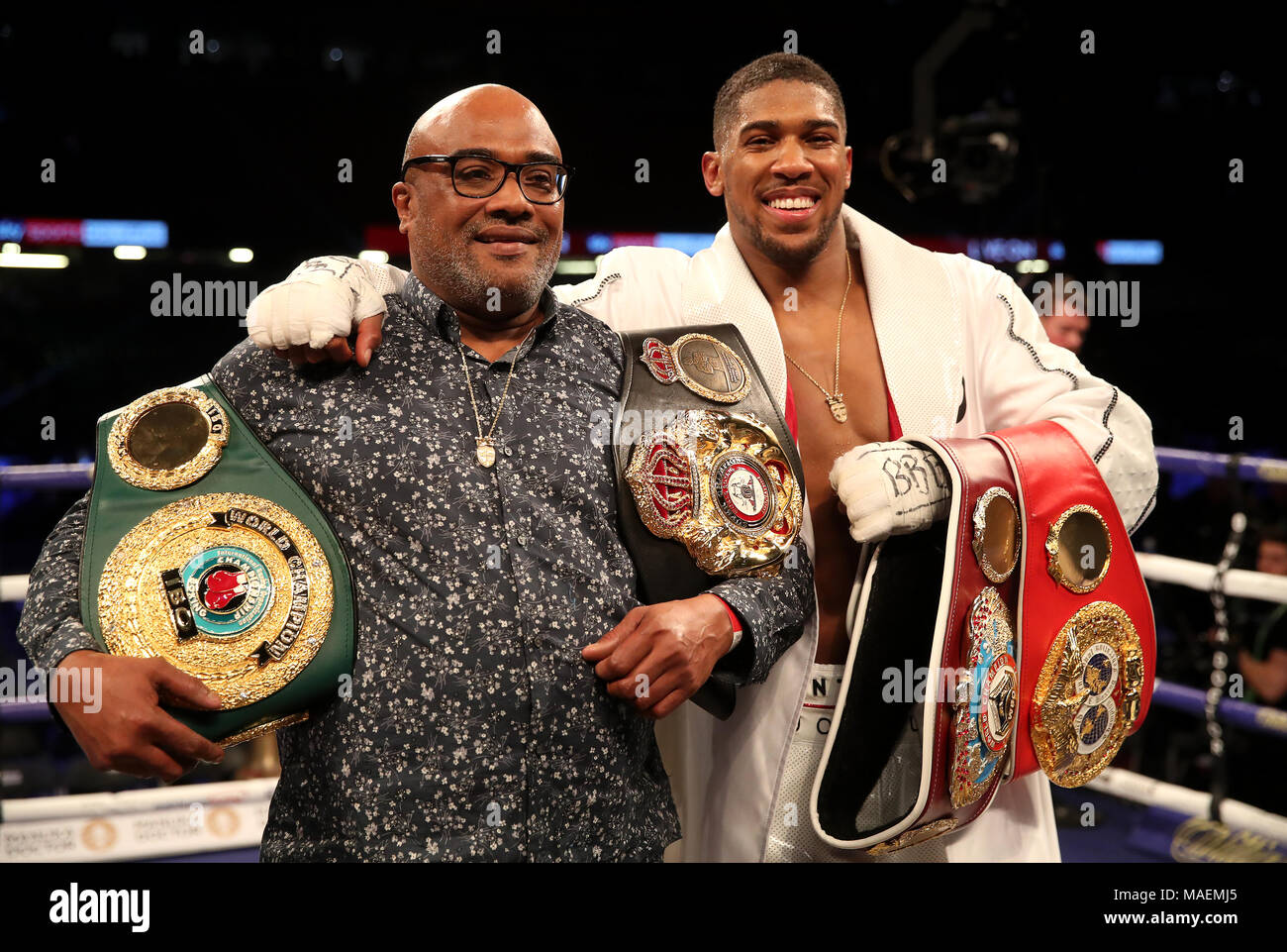 When MH met Anthony Joshua When MH met Anthony Joshua new photo
