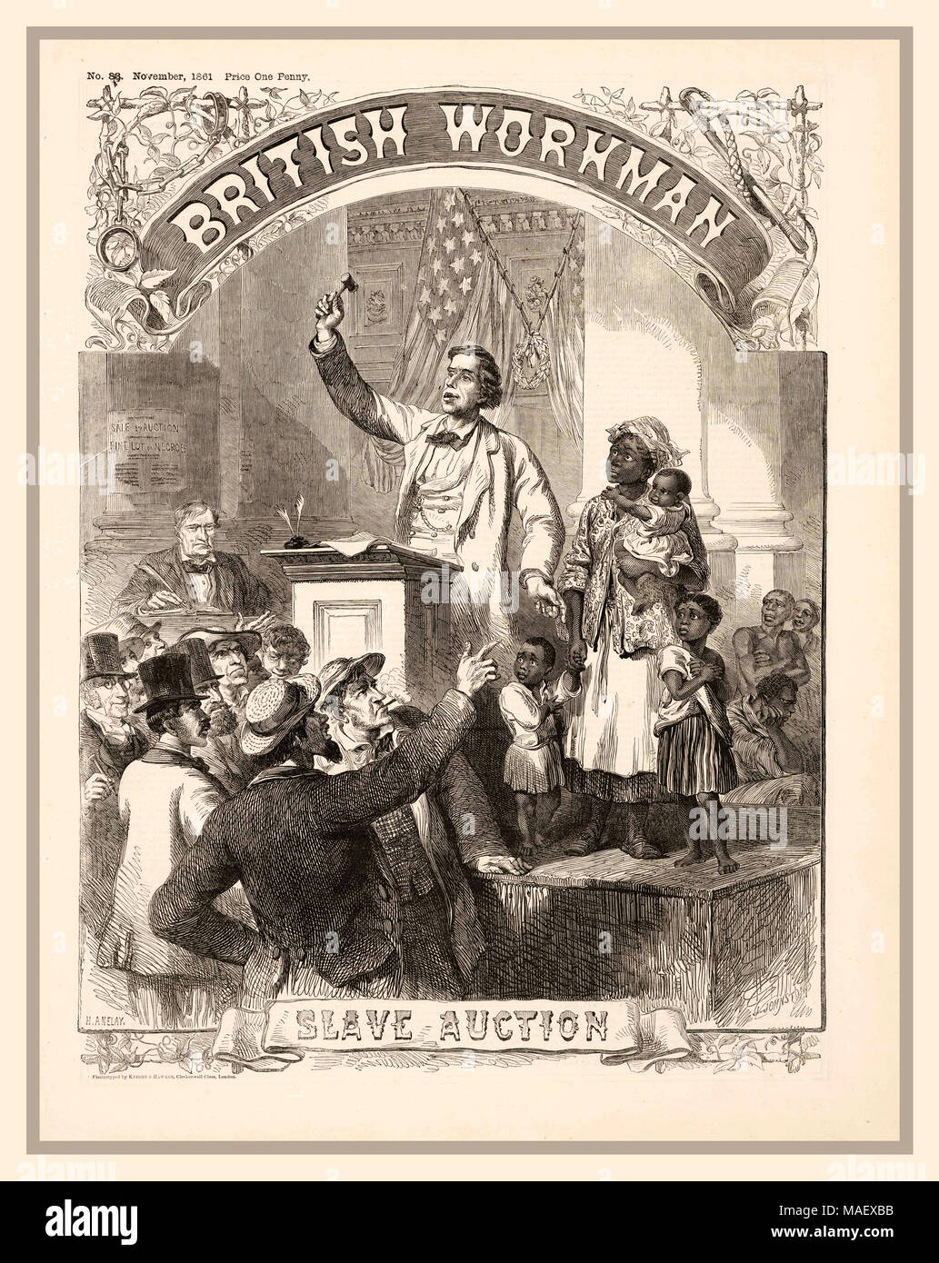 slavery in the late 1800s
