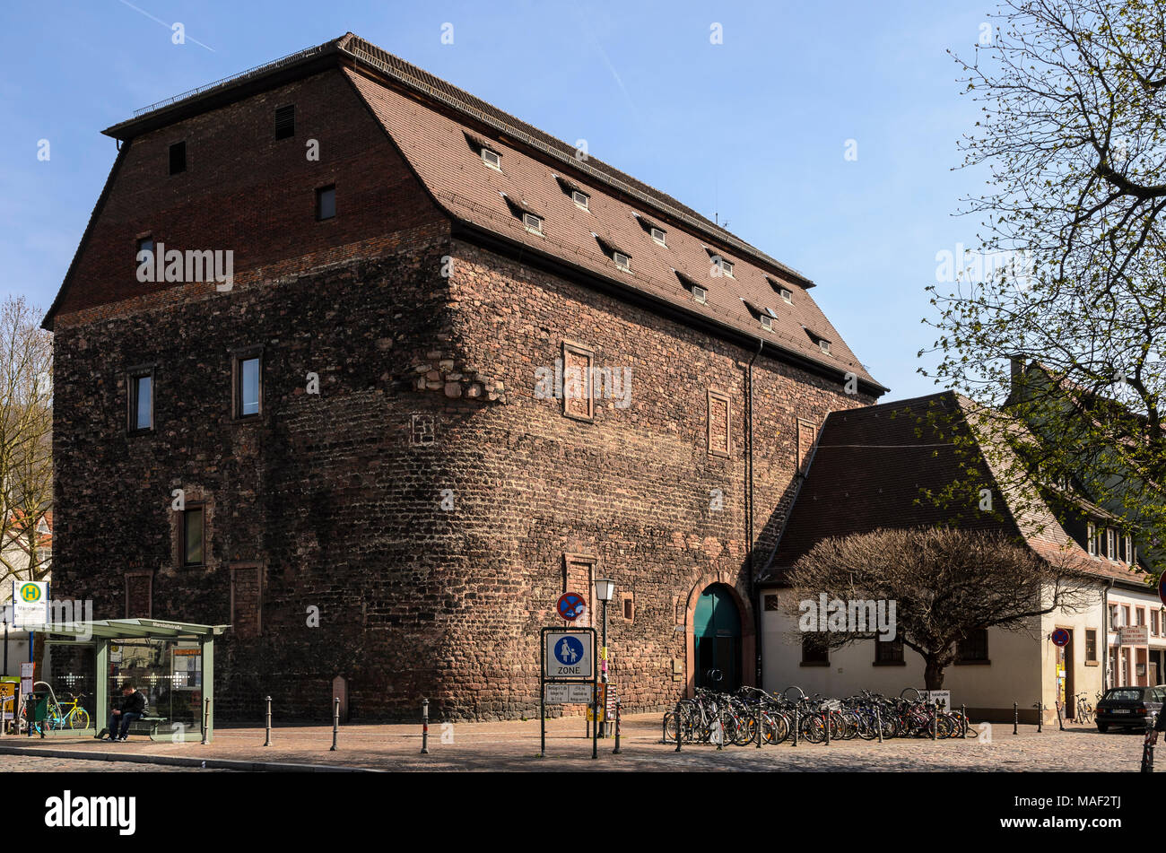 Heuscheuer, Heidelberg, Baden-Württemberg, Deutschland - Stock Image