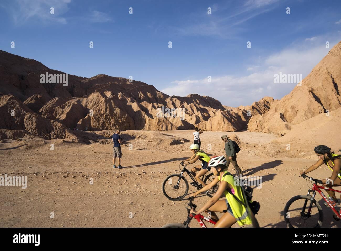Valle de la muerte, death valley, in Chile, Atacama - Stock Image