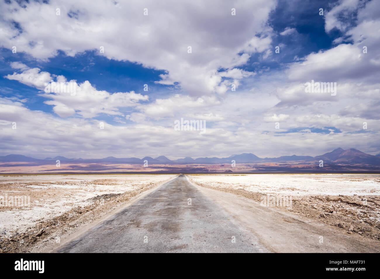Salar de Atacama, Antofagasta, Chile, southamerica - Stock Image