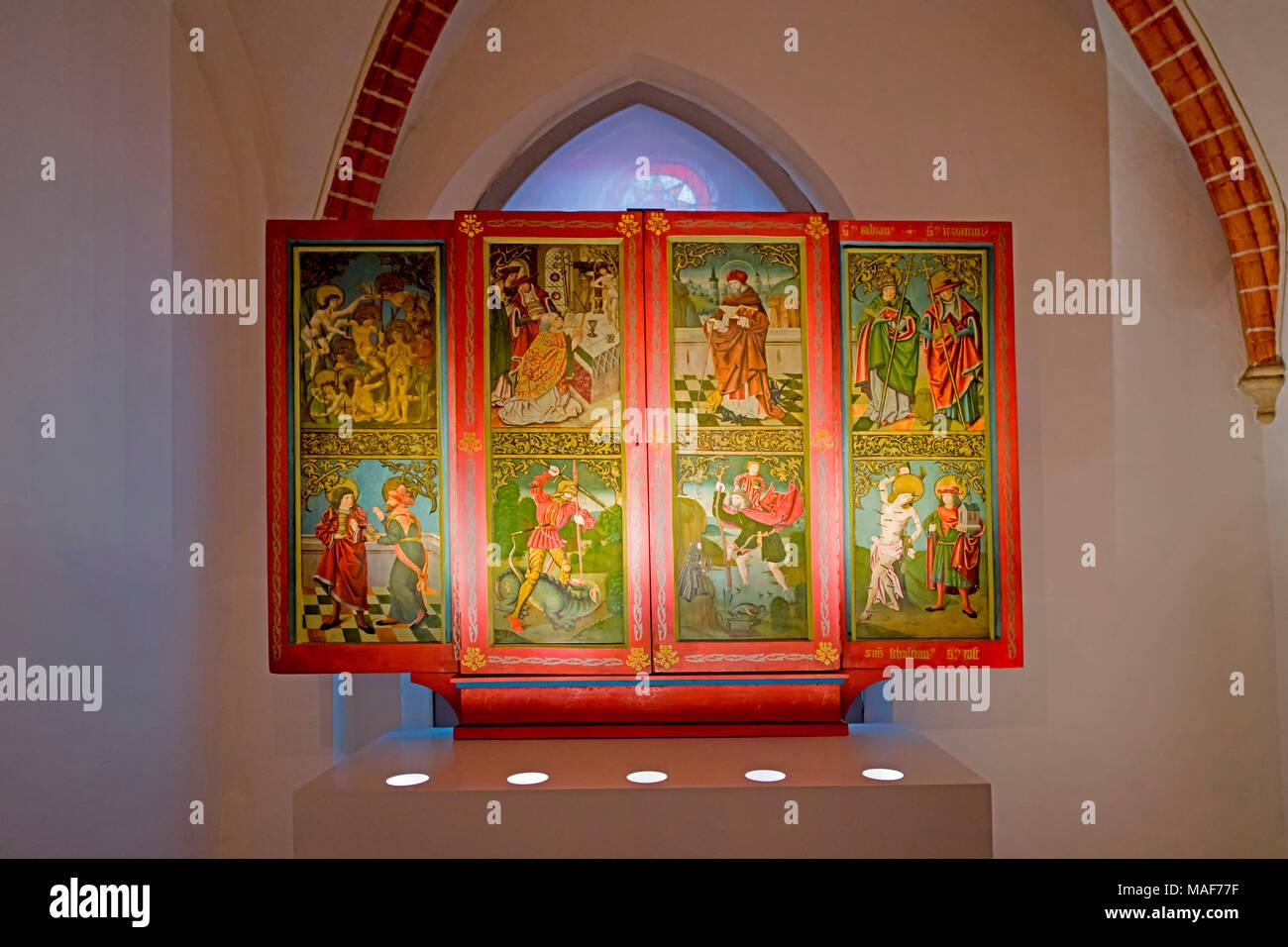 Lueneburg (Germany, Lower Saxony): St. Johannis Church; Lüneburg (Niedersachsen): St. Johannis Stock Photo