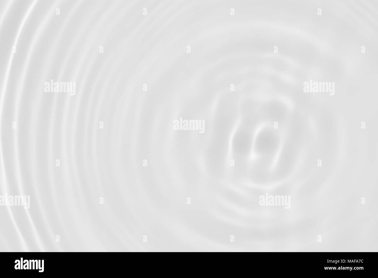 White wave abstract or water ripple texture - Stock Image