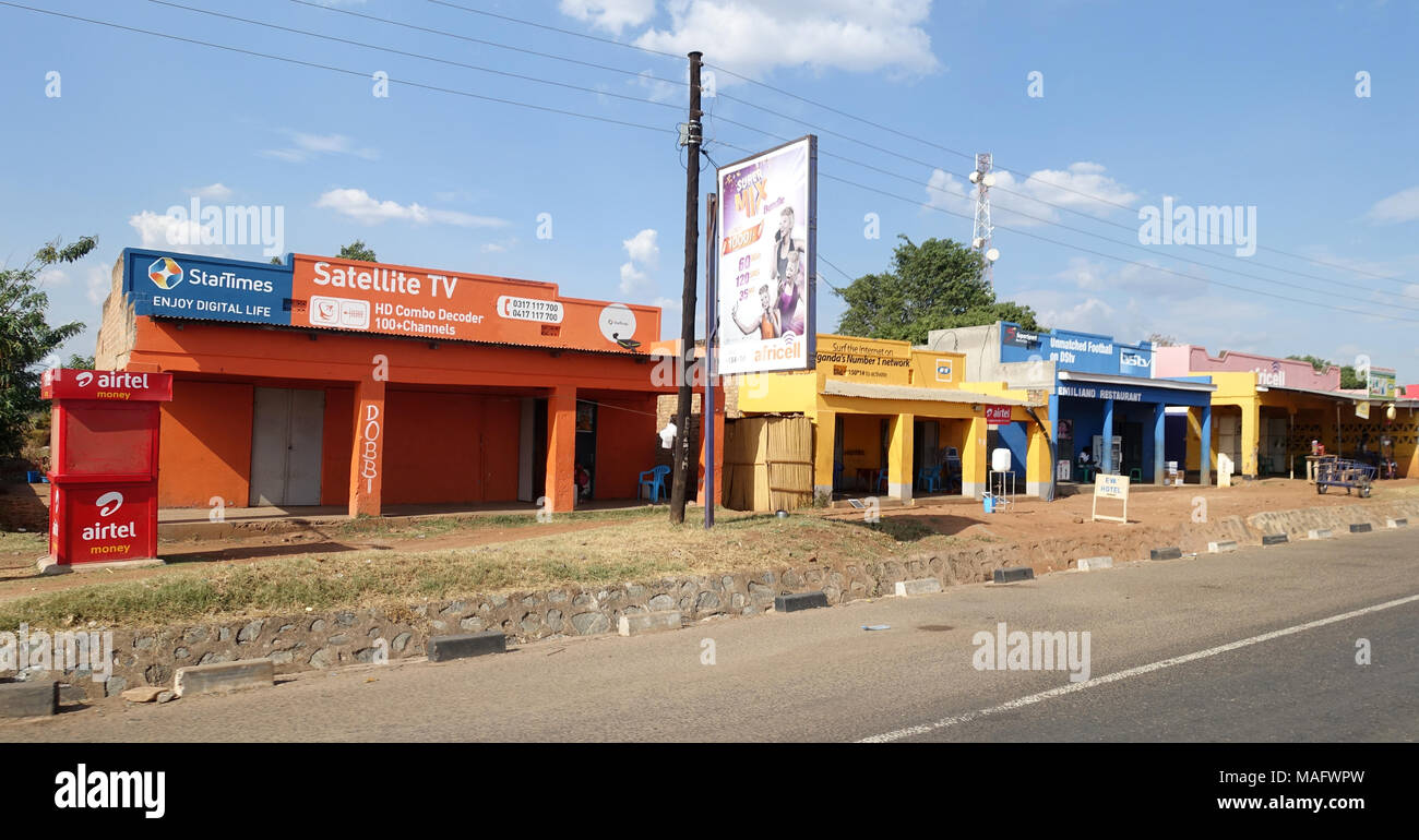 Roadside, Uganda, East Africa Stock Photo: 178599761 - Alamy