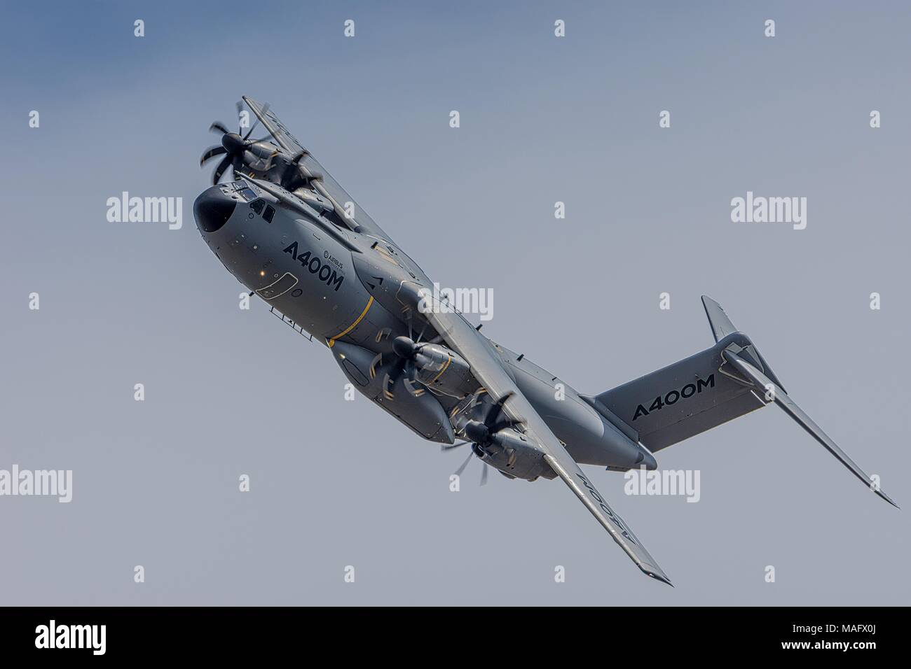 Airbus A400M Atlas Military Transport Fairford 2015 - Stock Image