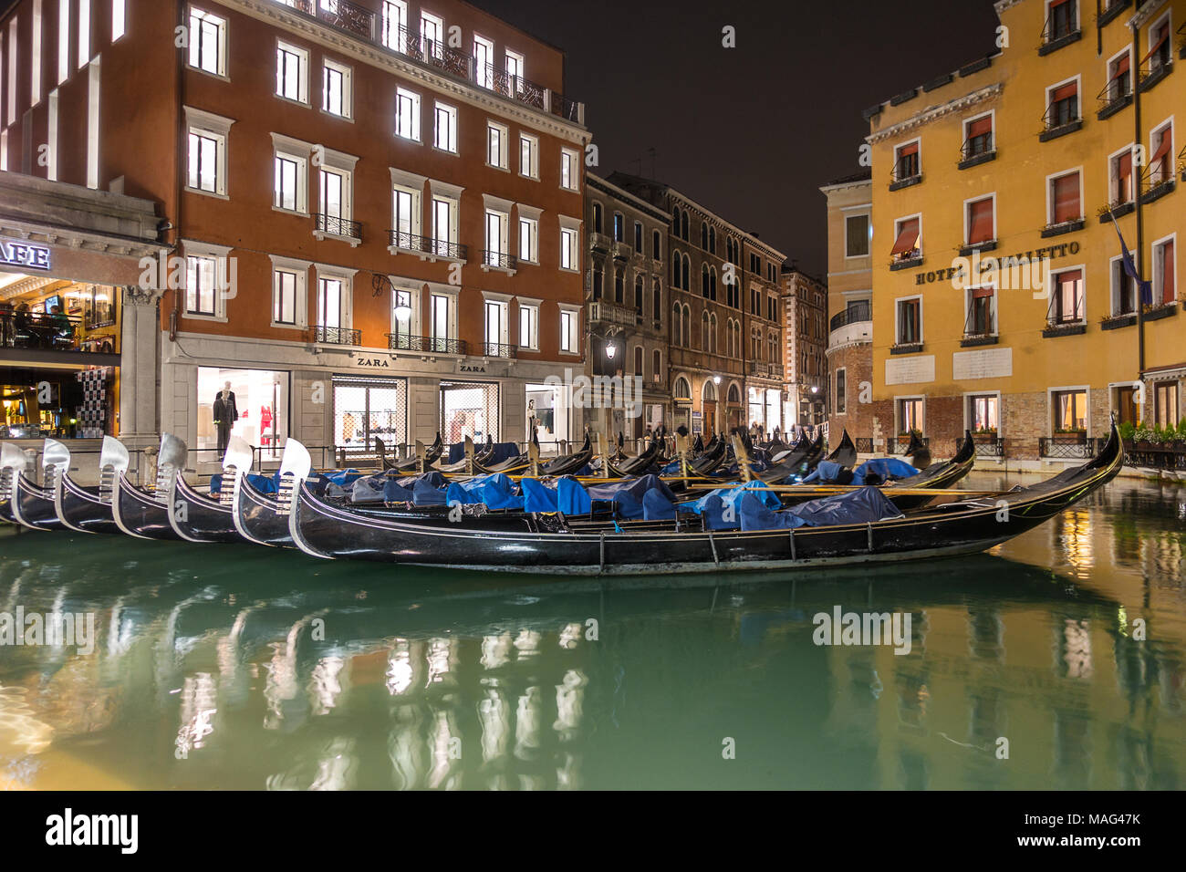 Bacino Orseolo in Venice - Stock Image