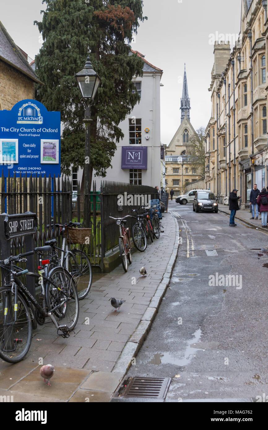 Oxford, Street, Shopping, Retail - Stock Image
