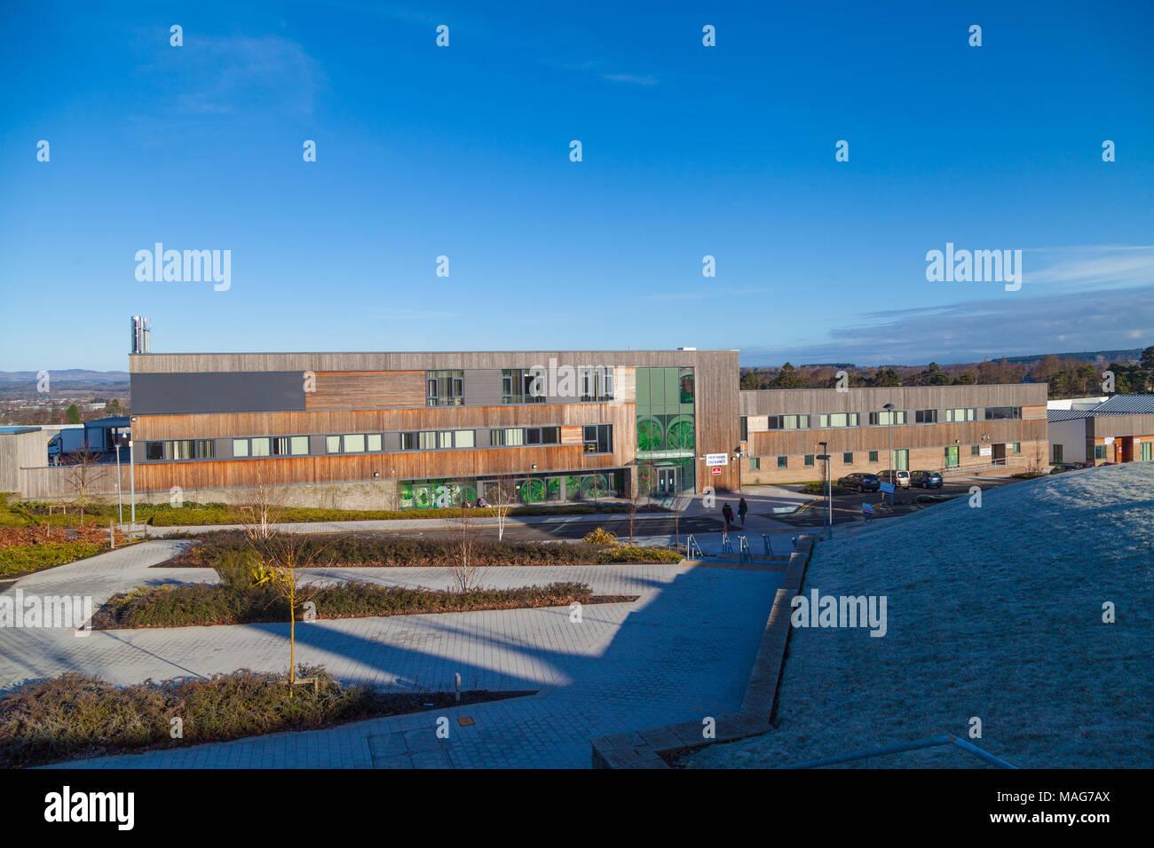 Murray Royal psychiatric Hospital, Perth Scotland. - Stock Image