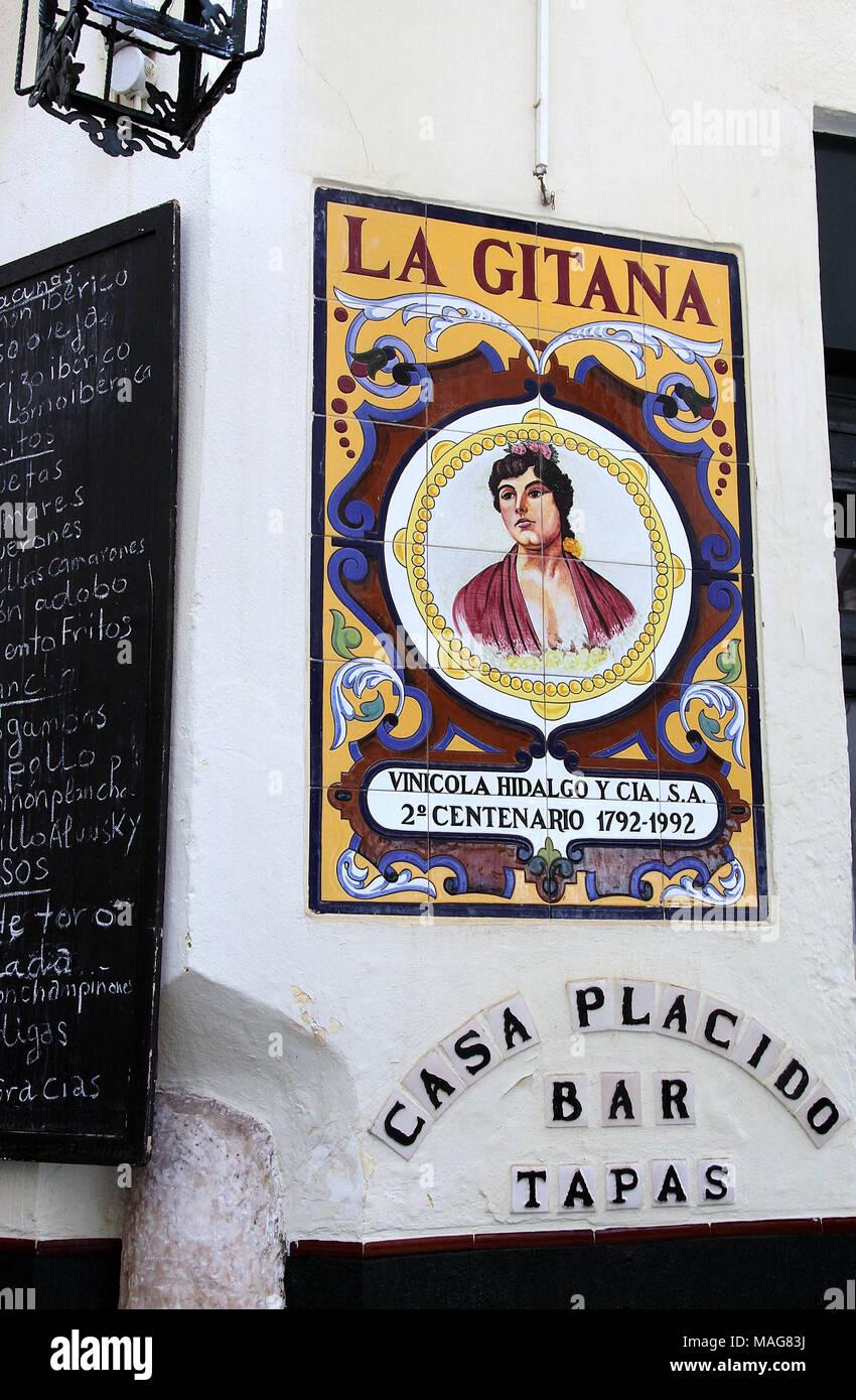 La Gitana in Seville - Stock Image