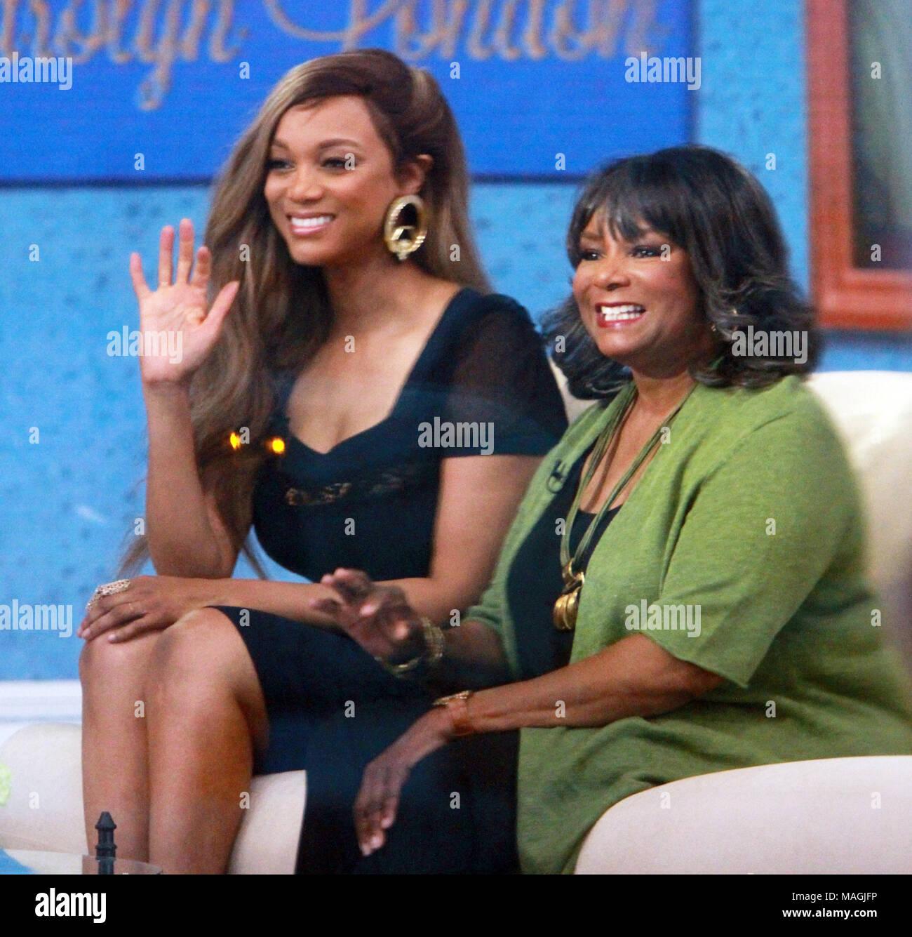 Tyra Banks 2018: New York, USA, 2 April 2018. Tyra Banks, Carolyn London At