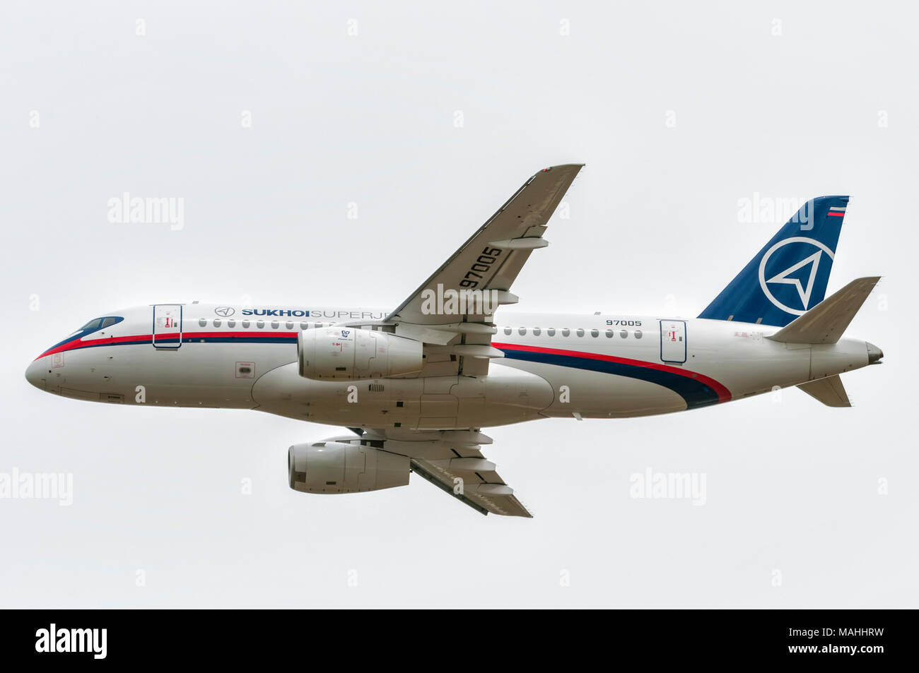 Sukhoi Superjet 100 - Stock Image