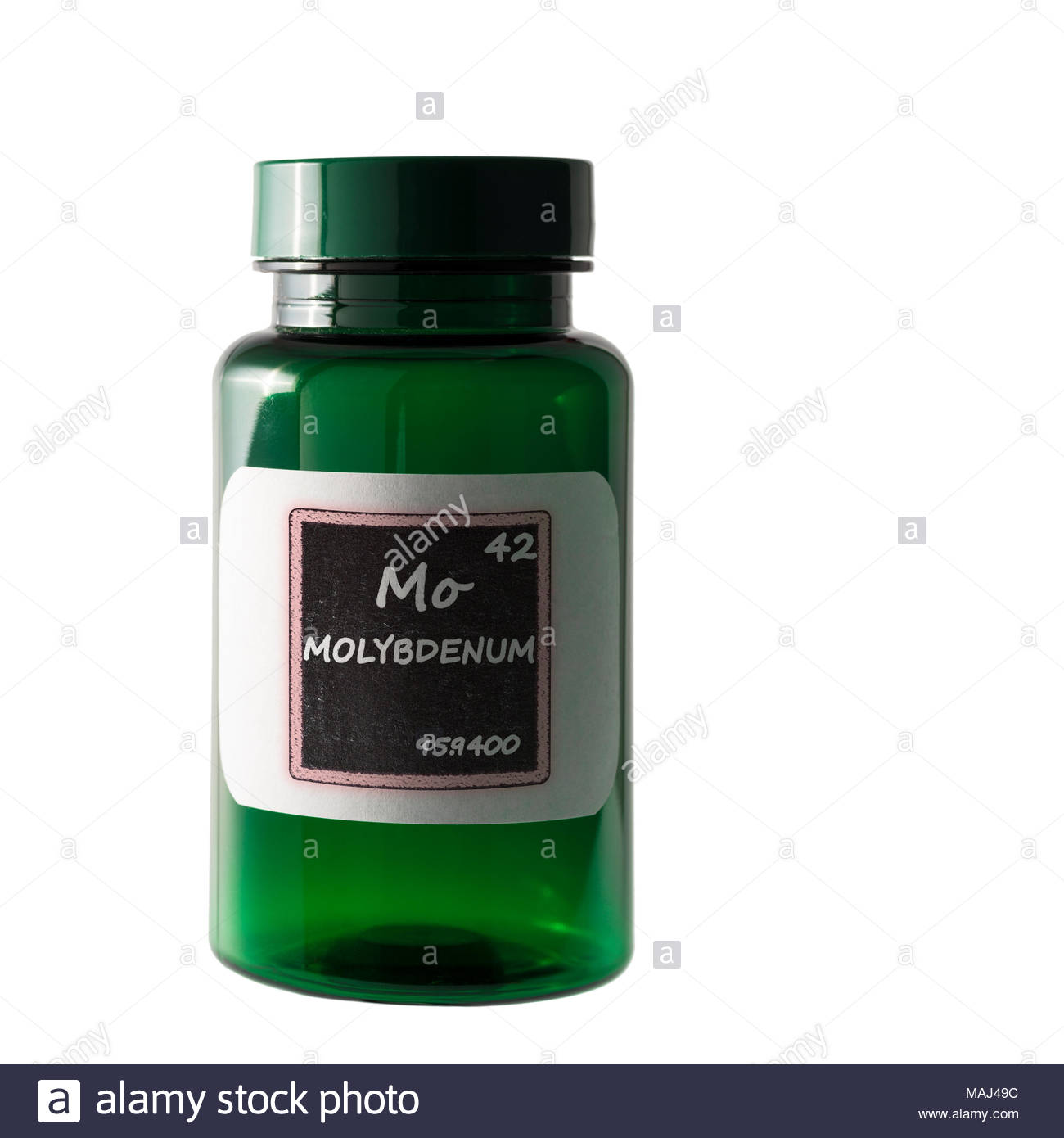 Chemical symbol mo stock photos chemical symbol mo stock images molybdenum periodic table details shown on bottle label stock image urtaz Image collections