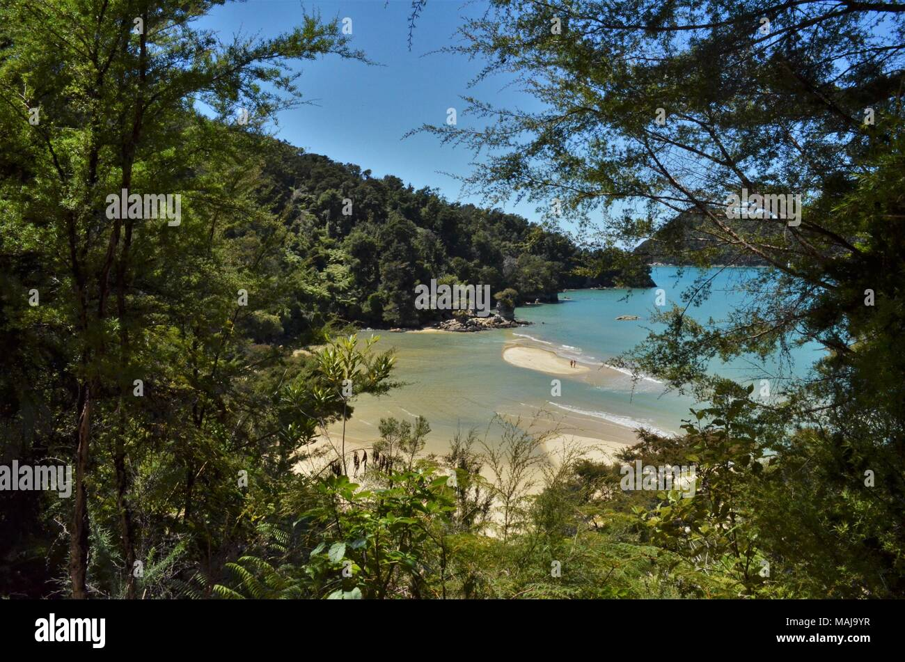 beach outlook - Stock Image