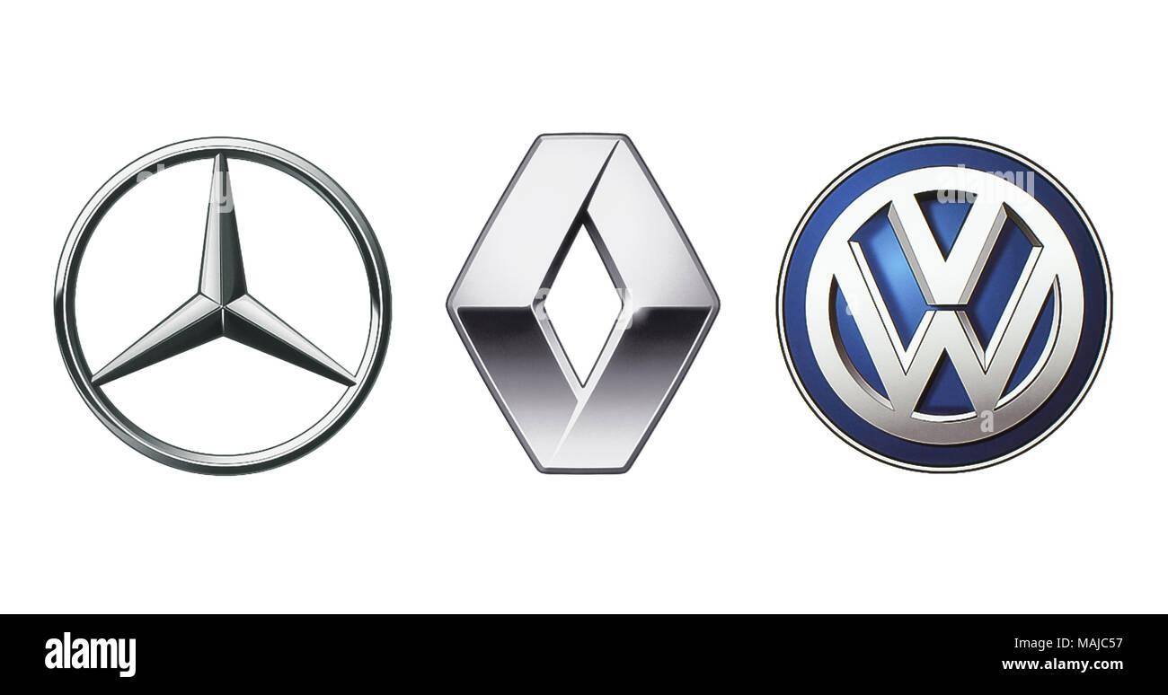 Mercedes Benz Logo Stock Photos Mercedes Benz Logo Stock Images