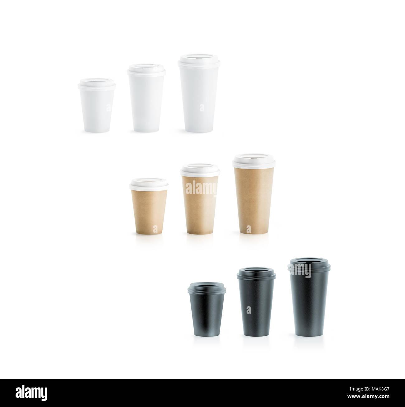 Brown Coffee Cup Lids